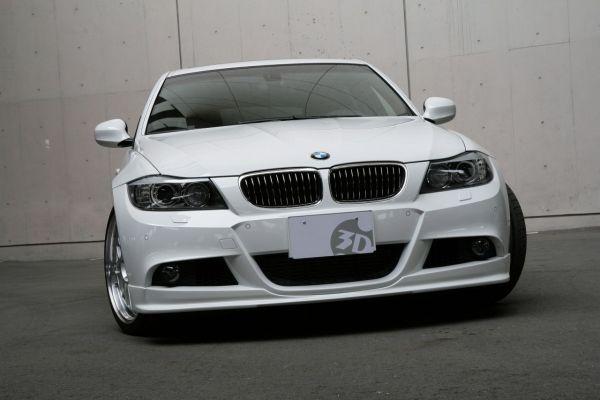 3DDesign Frontlippe für BMW 3er E90 E91 Vorfacelift mit M-Paket