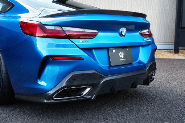 3DDesign Carbon Diffusor für BMW G14 G15 M850i (OE Auspuff)