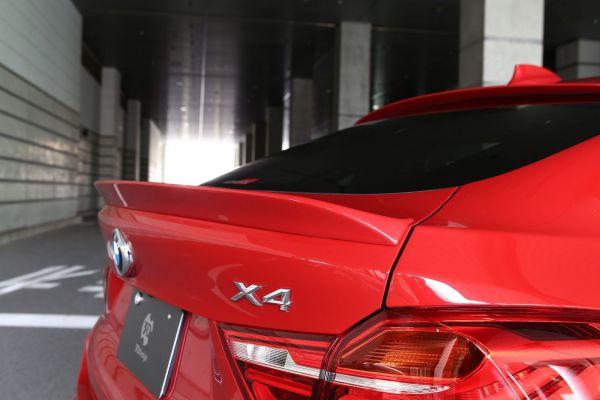 3DDesign Heck-Spoiler für BMW X4 F26