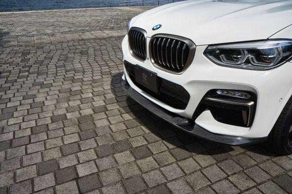 3DDesign Carbon Frontlippe für BMW G02 X4 M-Paket