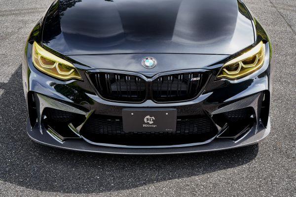 3DDesign Frontschürze inkl. Frontlippe für BMW F87 M2 Competition