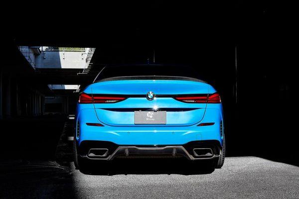 3DDesign Carbon Diffusor für BMW F44 M235i und 218i 220i mit M-Paket