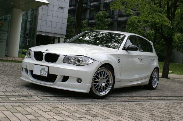 3DDesign Frontlippe für BMW 1er E87 mit M-Paket