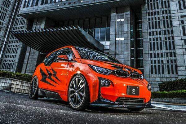 3DDesign Frontlippe für BMW i3