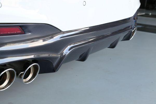 3DDesign Carbon Diffusor Type 2 für BMW 5er G30