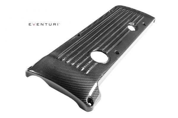 Eventuri Carbon Kevlar Motorabdeckung für BMW S54 Motor - rot