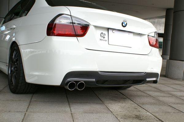 3DDesign Carbon/GFK Diffusor für BMW 3er E90 E91 mit M-Paket