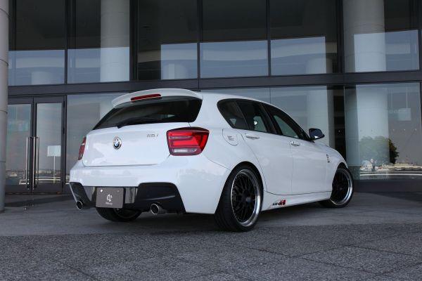 3DDesign Carbon Diffusor für BMW 1er F20 mit M-Paket
