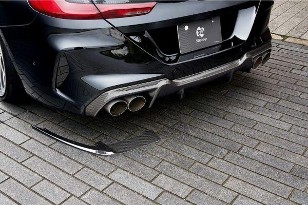 3DDesign Carbon Diffusor für BMW 8er F93 M8 3-teilig komplett