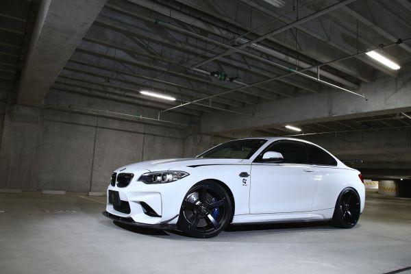 3DDesign Carbon Frontlippe für BMW F87 M2