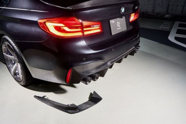 3DDesign Carbon Diffusor-Finnen für BMW F90 M5