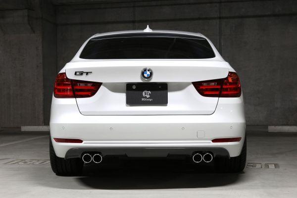 3DDesign Carbon Diffusor für BMW 3er F34