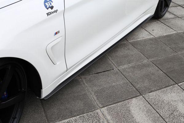 3DDesign Carbon Seitenschweller für BMW 4er F32 mit M-Paket
