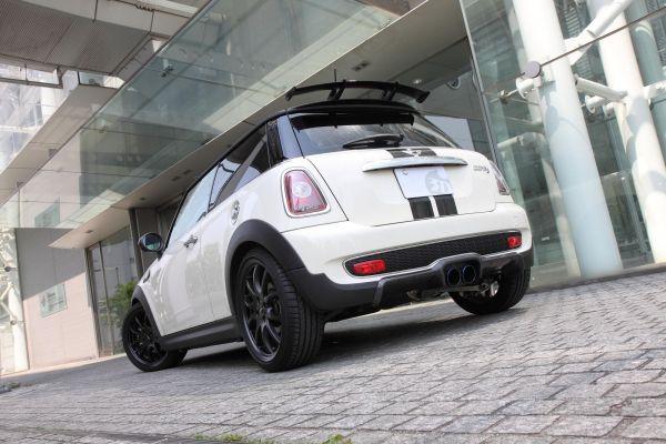 3DDesign Carbon Diffusor für Mini Cooper S Vorfacelift
