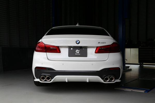 3DDesign GFK Heckdiffusor für BMW G30 mit M-Paket