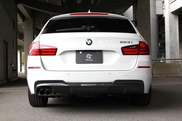 3DDesign Carbon Diffusor für BMW 5er F10 F11 mit M-Paket