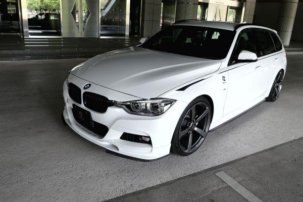 3DDesign Carbon Seitenschweller für BMW F30 F31 mit M-Paket